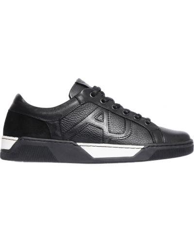 Черные кроссовки Armani Jeans