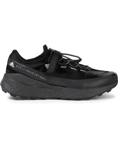 Черные кроссовки на липучках Adidas By Stella Mccartney