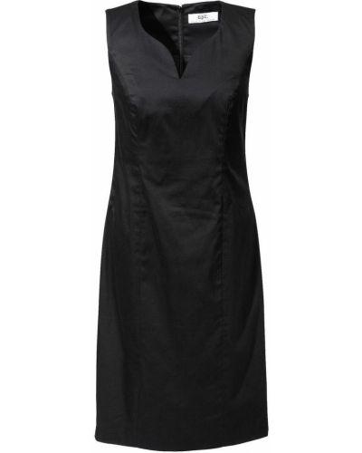 Облегающее платье футляр без рукавов Bonprix