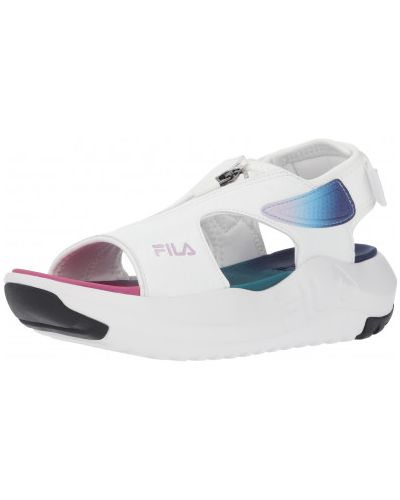 Белые сандалии Fila