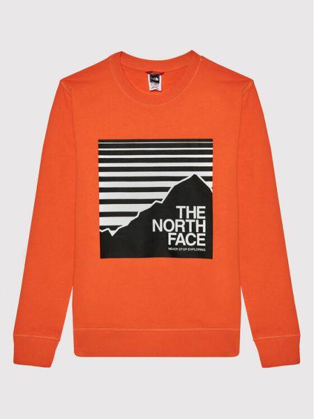 Bluza - pomarańczowa The North Face