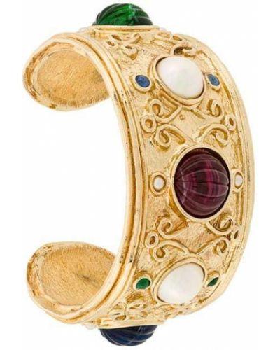 Браслет с камнями - желтый Christian Dior Pre-owned