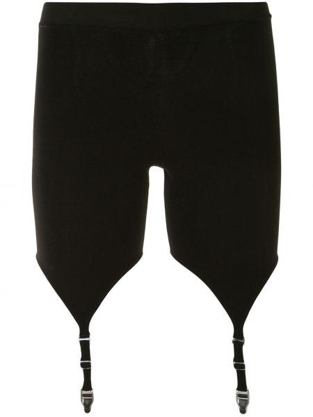 Черные шорты с поясом без застежки Dion Lee