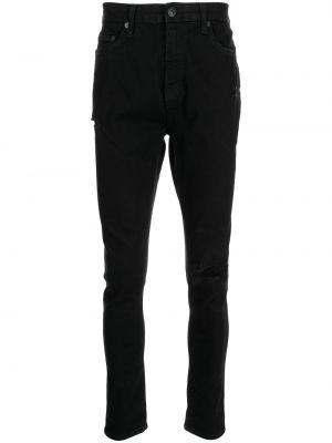 Облегающие джинсы - черные True Religion
