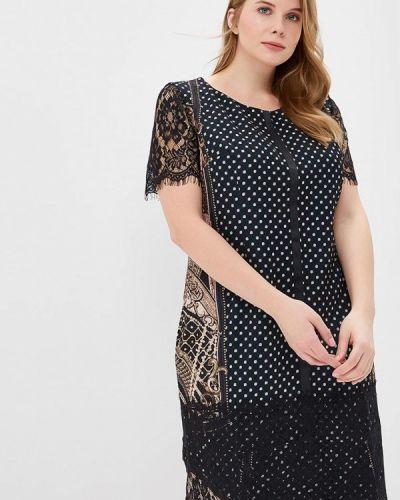 Платье миди - черное Virgi Style