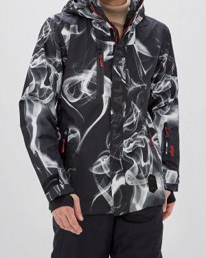 Куртка горнолыжная черная осенняя Termit