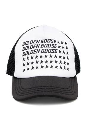 Baseball bawełna bawełna żółty czapka Golden Goose Kids