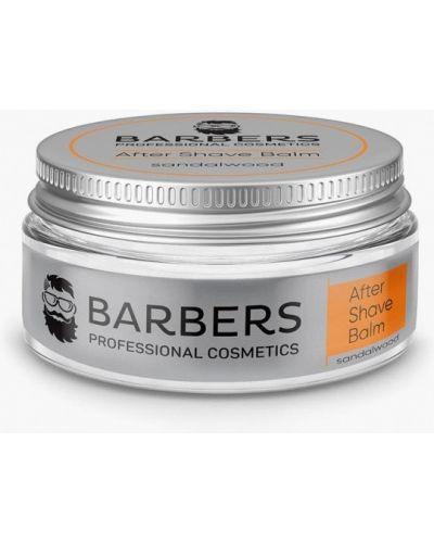 Серебряный бальзам для бритья Barbers