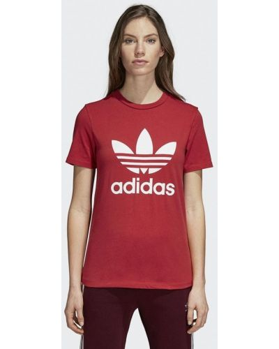 Красная футболка 2019 Adidas Originals