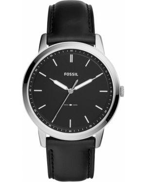 Zegarek srebrny czarny Fossil