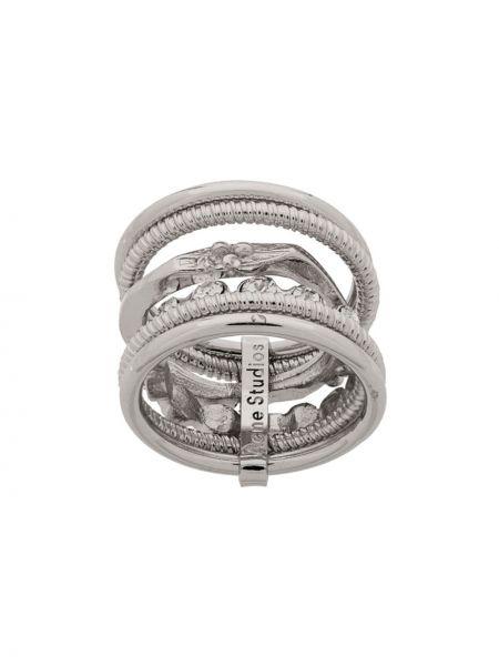Pierścień ze srebra zabytkowe Acne Studios