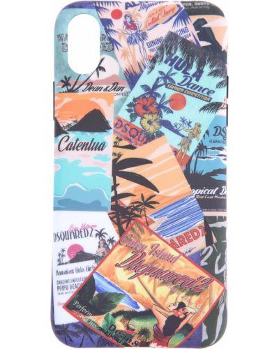 Брелок с декоративной отделкой винтажный Dsquared2