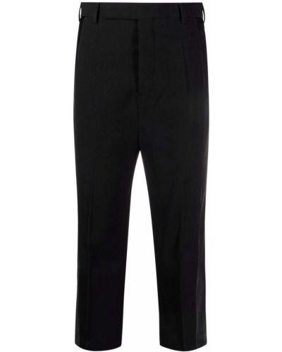 Spodnie z wiskozy - czarne Rick Owens