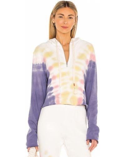 Худи на молнии - фиолетовое Wildfox Couture