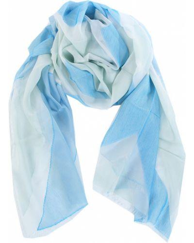 Голубая шаль шелковая Jane Carr
