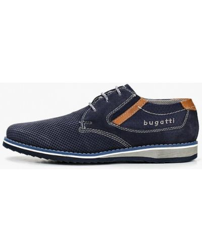 Туфли замшевые Bugatti