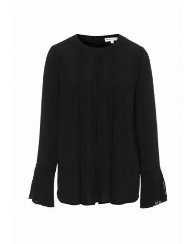 Блузка с длинным рукавом весенний черная Warehouse