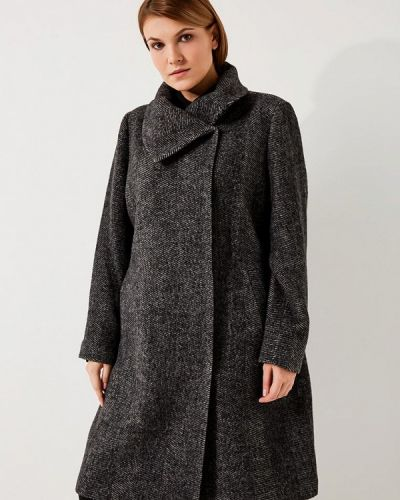 Пальто демисезонное серое Fiorella Rubino