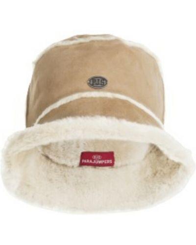 Beżowa czapka Parajumpers