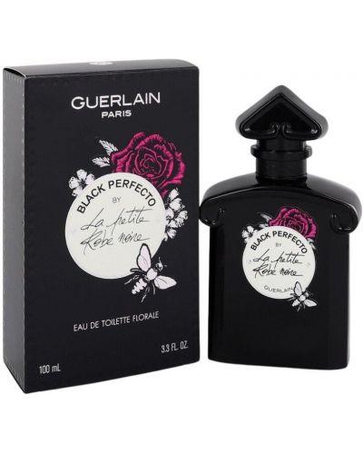 Czarny szlafrok Guerlain