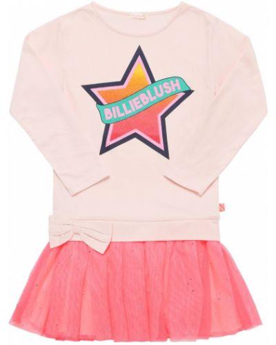 Трикотажное платье - розовое Billieblush