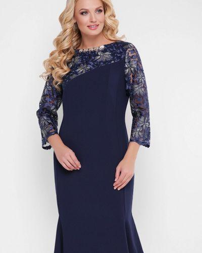 Вечернее платье - синее Vlavi
