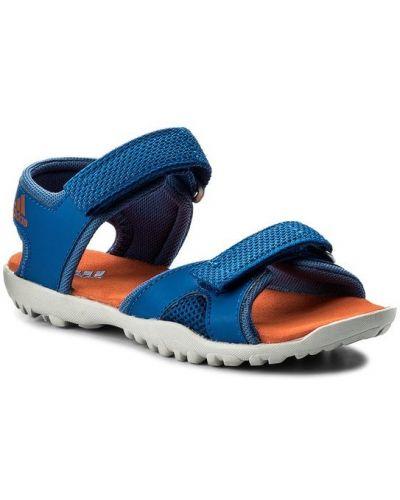 Niebieski sandały Adidas