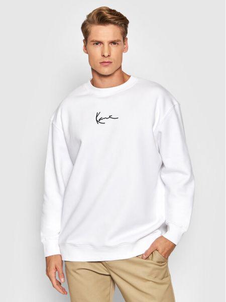 Bluza - biała Karl Kani