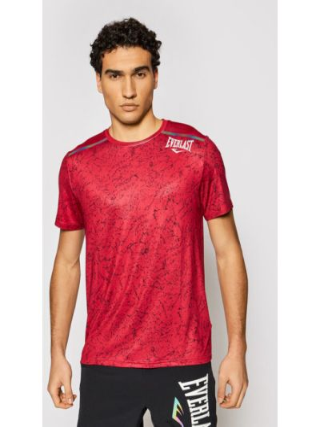 Czerwona t-shirt Everlast
