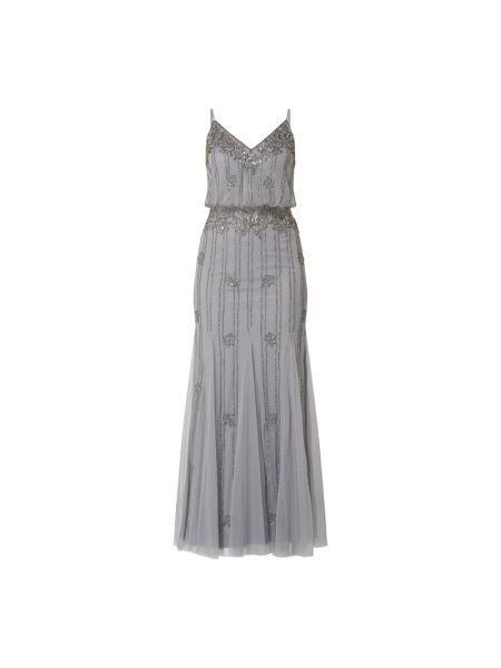 Sukienka wieczorowa rozkloszowana koronkowa tiulowa Lace & Beads