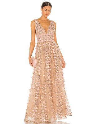 Пляжное платье макси - розовое Bronx And Banco