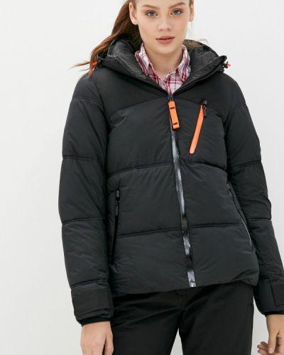 Теплая черная куртка Icepeak