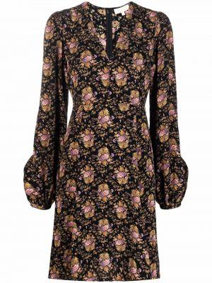 Czarna sukienka długa z wiskozy Bytimo
