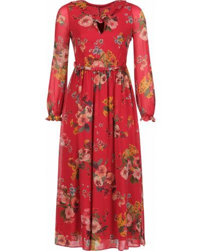 Платье из вискозы - красное Twin-set