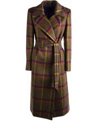 Zielony płaszcz Tagliatore