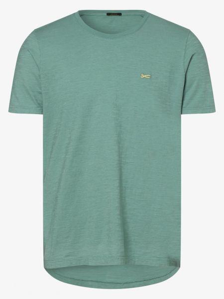 Zielony T-shirt basic Denham