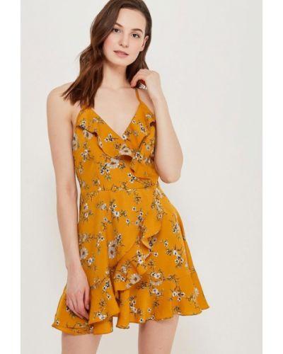 Оранжевое платье Urban Bliss