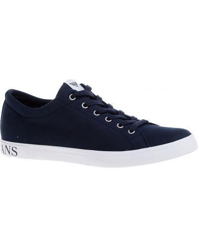 Кеды синий Armani Jeans