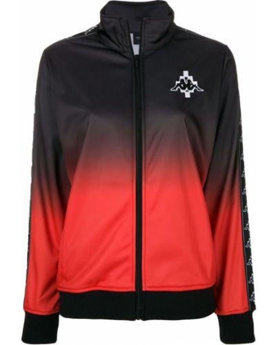 Спортивная куртка черная на молнии Marcelo Burlon. County Of Milan