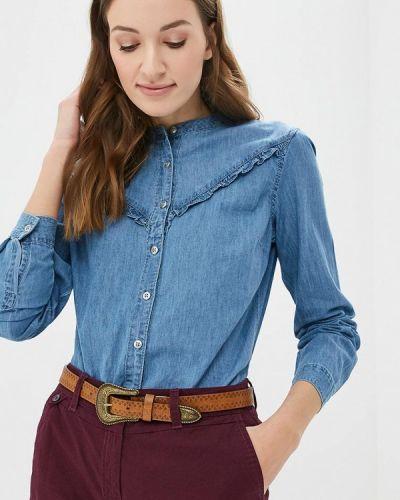 Голубая джинсовая рубашка Iwie