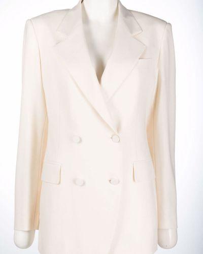 Белый костюм из эластана Tagliatore
