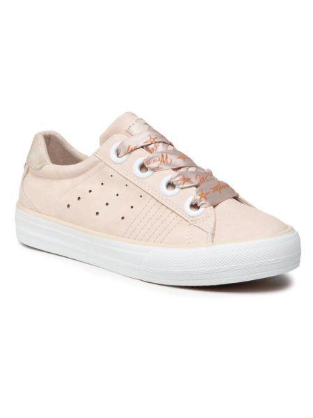 Różowe sneakersy Wrangler