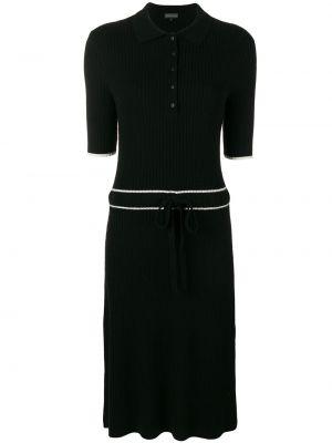 Вязаное с заниженной талией восточное платье мини с воротником Cashmere In Love