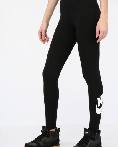 Черные брюки Nike