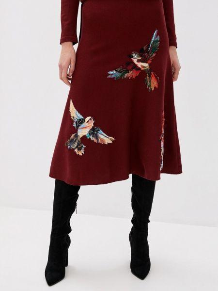Бордовое платье Yukostyle