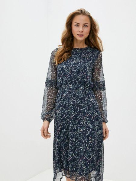 Платье прямое синее Concept Club