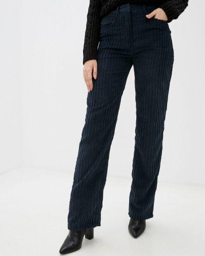 Повседневные синие брюки Stefanel