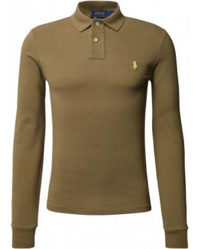 Zielona koszulka bawełniana Polo Ralph Lauren