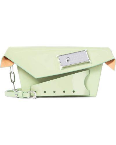 Zielona kopertówka skórzana Maison Margiela
