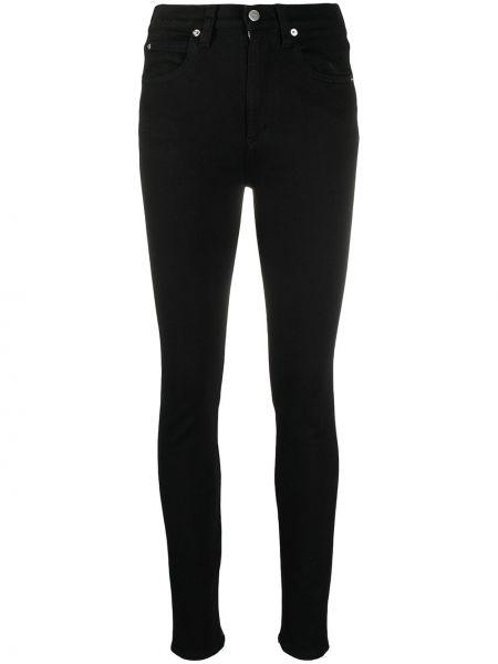 Облегающие черные джинсы-скинни на молнии Victoria, Victoria Beckham